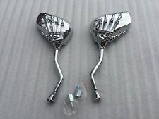 Pair Skull Claw Rearview Motorbike Mirror 4 Aprilia BMW Buell Ducati Honda KTM S