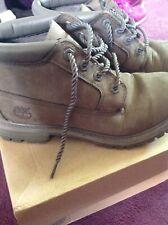 Ladies size 6  Nubuck Grey Timberland Boots