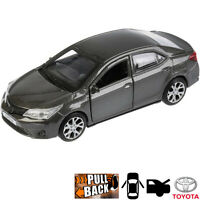 Diecast Metal Model Car Toyota Corolla Gray Toy Die-cast Cars