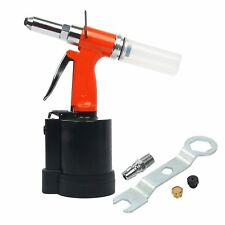 "1/4"" Hydraulic Air Riveter Pop Rivet Gun 3/32"" - 3/16"" Nose Pieces"