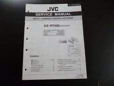 Original Service Manual JVC KS-RT600