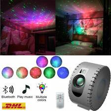 Musik Lautsprecher & LED Sternenhimmel Projektor Nachtlicht mit Fernbedienung DE