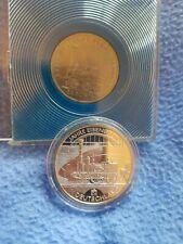 MÜNZE 10 Euro  #SILBER# 175 Jahre Eisenbahn BRD &DDR  Fernbahneisenbahn 5 Mark