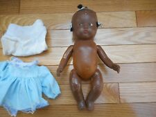 """Antique Black Americana African Composition 10"""" Doll Jointed"""