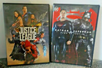 Batman v Superman Dawn Of Justice & Justice League 3 DVDs Pre-owned All Tested