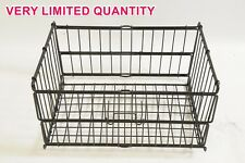 BIKE FOLDING BASKET FOR REAR CARRIER IDEAL ANY CYCLE WITH PANNIER RACK BARGAIN £