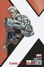 CABLE  #1 (2017) 1ST PRINTING SCARCE 1:10 KIRK CORNER BOX VARIANT COVER