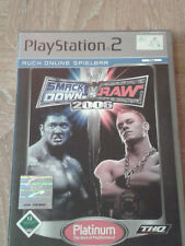 WWE SmackDown Vs. Raw 2006 (Sony PlayStation 2, 2005, DVD-Box)