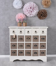 Sideboard Wooden Dresser Apothecary Cabinet Antique Apothekerkommode