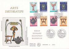 Enveloppe grand format 1er jour 1994 GF Soie Série Arts décoratifs