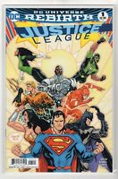 Justice League Issue #1 DC Comics Rebirth (Variant Cover)
