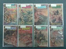 Tragg & The Sky Gods #1-8 Gold Key 1975 Complete Full Set Lot Run! 6.5-7.5 Avg!