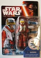 "Hasbro Star Wars W1 Force Awakens 3.75"" # X-Wing Pilot Asty X Wing Action Figure"