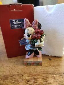 Disney Traditions Jim Shore Minnie Mouse Le Vie En Rose Figure Statue box love