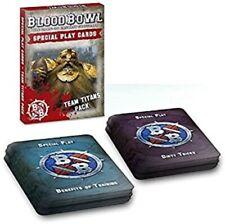 Warhammer Blood Bowl Equipo De Titanes Pack inglés de tarjeta de juego especial