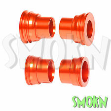 RFX Front & Rear Wheel Spacers KTM 250 350 400 450 525 530 EXC-F 03-15 Orange