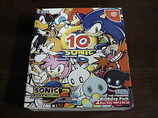 SEGA Dreamcast DC - Sonic Adventure 2 10th Anniversary box - Japan Import