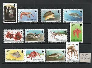 Falkland Islands  1994 SG701/12 superb MNH condition.