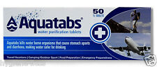 Aquatabs Comprimés De Purification D'Eau 50 Pack l'OTAN de l'armée britannique, forces spéciales américaines