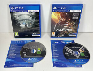 EVE Valkyrie & Robinson The Journey PS4 PlayStation 4 VR Virtual Reality Games