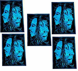 Cotton Mandala 5pics Wall Hanging Tapestry Poster Bulk Hippie Wholesale Lot New