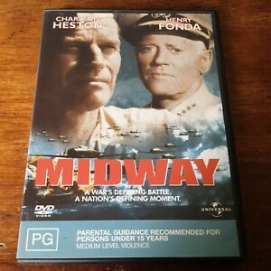 Midway DVD R4 Like New! FREE POST