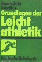 Bauersfeld, Schröter - Fundamentos de La Leichtathletik. #B2010451