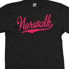 Norwalk Script Tail T-Shirt - Team Stars School High Lancers - All Size & Colors