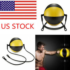 KUYOU Boxing Double End Speed Ball Leather Ball Speed Training Bags Exercise US