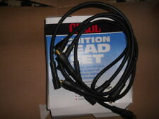 FORD escort, capri, cortina fiesta cross flow ignition ht lead set BLACK  n.o.s.