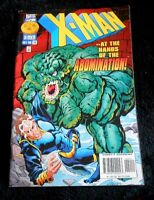 Marvel Comics X-MAN at the hands of the ABOMINATION! Vol 1 No 20 October 1996