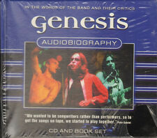 GENESIS Audiobiography NEW SEALED BOOKLET & CD