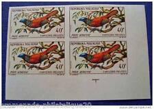 MADAGASCAR timbre aérien yvert et tellier n°89 non dentelés - Bloc de 4 - n**