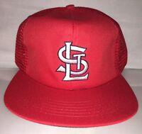 Vtg St. Louis Cardinals mesh Snapback hat cap 90s NWT MLB Baseball deadstock