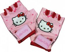 Hello Kitty Kinder/Mädchen Fahrrad-Kurzfingerhandschuhe pink/rot - 816061