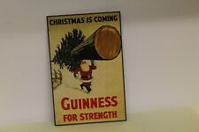 DOLLS HOUSE ( Metal Sign CHRISTMAS GUINNESS
