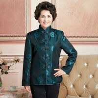National Chinese men's/women's silk clothing jacket/coat Cheongsam size:M to 3XL