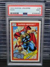 1990 Marvels Universe Thor Super Heroes #18 PSA 9 MINT (53) Q162