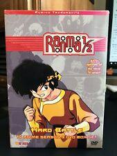 Ranma 1/2: Hard Battle - Box Set (DVD, 2002, 5-Disc Set)