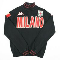 Vintage KAPPA MILANO Quarter Zip Sweatshirt | Mens S | 1/4 AC Milan Retro Sweat