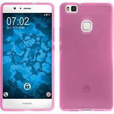 Huawei P9 Lite TPU funda cover transparente Rosa protector de pantalla