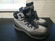 VGC Lands End Leather Ankle Walking Mountain Boots Dark and light Grey