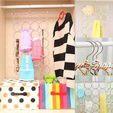 Multiuse Closet Hanger Scarf Organizer Belt Tie Rack Holder Storage Hook Necktie