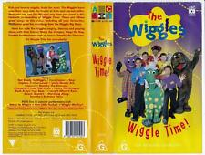 THE WIGGLES - WIGGLE TIME   *RARE VHS TAPE*.