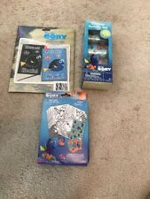 Disney Finding Dory 3 Pc Gift Set Scratch & Reveal, Stickers & Stamp Set #103