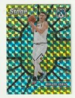 2019-20 Panini Mosaic Prizm Silver Nikola Jokic Center Stage Hobby SP Nuggets