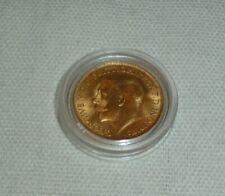 More details for george v- half gold sovereign 1914, 22 carat gold 3.98g