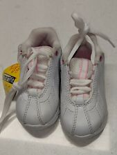 Smart Fit Toddler Sneakers White Pink Sz 5