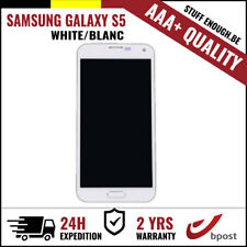 AAA+ LCD TOUCH SCREEN DISPLAY/SCHERM/ÉCRAN WHITE FOR SAMSUNG GALAXY S5 I9600