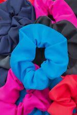 Haargummi Scrunchies matt elastisch breit Zopfband Haarbinder Zopfgummi Armband